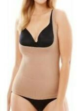 WARNERS 600089WA Beige Nude WEAR YOUR OWN BRA CAMI Firm Control Slimming Small S