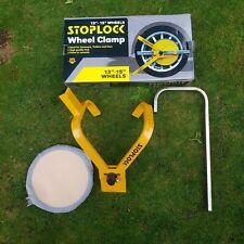 Stoplock HG40000 Anti-Theft Wheel Clamp High Security Lock