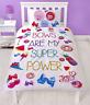 JoJo Siwa Bows Are My Super Power Single Duvet Cover Set Reversible Bedding