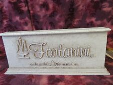 Fontanini by Roman - Retail Display Sign-Used- Excellent condition -No Box