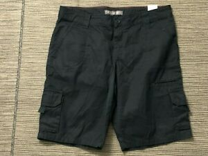 Dickies Adult Womens 12 Relaxed Cargo Shorts Black