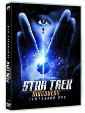 STAR TREK DISCOVERY DVD TEMPORADA 1 CASTELLANO ESPAÑOL NUEVO PRIMERA
