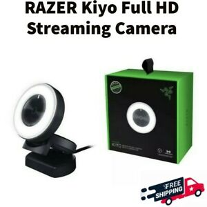 Razer Kiyo 1080p 30 FPS/720 p 60 FPS Streaming Webcam with Ring Light