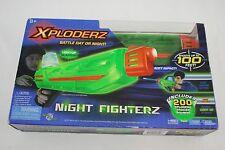XPLODERZ Night Fighterz Light Up Blaster Gun NIB Includes 200 Tracer Rounds