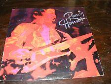 Autographed and Dedicated Cover RANDY HANSEN LP Capitol 1980 Hard Rock HENDRIX