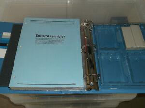 ti994 & 4a 'Editor Assembler' module/manual/disks/folder/box complete(new)