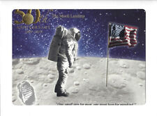 2019 Apollo 11 50th Anniversary Engraved Print Giant Leap out at MINT