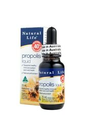 BEST PRICE Natural Life Propolis Liquid Double Strength 40% 25ml