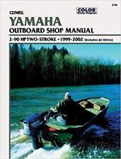Clymer manuali YAMAHA 2-90 cv due tempi fuoribordo e Jet Drive, 1999-2002 B786