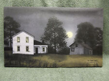 Moon Lite White Barn Canvas Farm Barn Home Decor Billy Jabocs