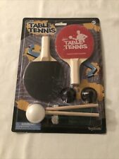 MINI TABLE TENNIS SET SUCTION CUP NET 2 PADDLES 1 BALL BRAND NEW!!