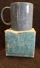 ani mates blue bunny orgy mug w/box made in japan never used display only
