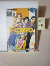 F. COMPO  FAMILY COMPO  Nº1 TSUKASA HOJO MANGALINE EDICIONES