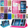 Nokia 7 Plus Case, Premium Leather Wallet Book Flip Pouch Stand View Card Cover