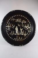 CHINESE VINTAGE MOTHER PEARL INLAY LACQUER TRAY