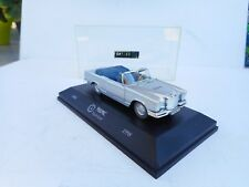 FALLER Memory Cars 1:43 MERCEDES BENZ W-111 220 S Cabriolet Silver Near Mint Box