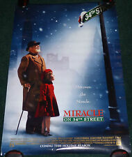 MIRACLE ON 34TH STREET 1994 ORG ROLLED DS ADVANCE 1 SHEET MOVIE POSTER VERSION B