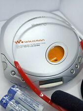 Walkman Sony D-E340 Cd Discman Reproductor De Disco compacto de música personal portátiles