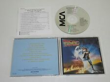 BACK TO THE FUTURE/SOUNDTRACK/VARIOUS(MCA MCAD-6144/DIDX-422) JAPAN CD ALBUM