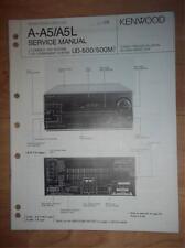Kenwood Service Manual~A-A5/A5L Receiver~UD-500/500M System~Original~Repair