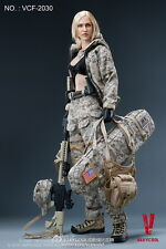 VERYCOOL VCF-2030 1/6 ACU Camo Woman Shooter Max Female Action Figure Model