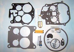 Rochester Quadrajet Carburetor Rebuild Kit Brass Float Filter 75 - 77 Cadillac