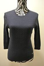 New/NO TAG.Ladies' michael kors navy color knit crewneck long sleeve sweater/m/m