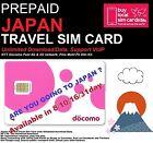 Travel to Japan? 31 days Prepaid data SIM card 6GB data! NTT DOCOMO 4G Network