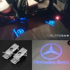 2pcs LED Blue laser Projector door light  For Mercedes- Benz C-Class SLK CLK GLK