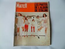 PARIS MATCH N°957 12/08/1967 Mode Courrèges Cardin Chanel Staline Procol Harum