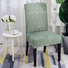Elastic Chair Cover Polyester Wedding Anniversary Party Home Decor PineGreen