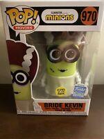 Funko Pop! Bride Kevin Minions GITD Shop Exclusive Funkoween Halloween In-Hand