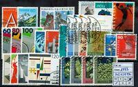 Svizzera - 1993 - Annata di Posta Ordinaria - completa - usata