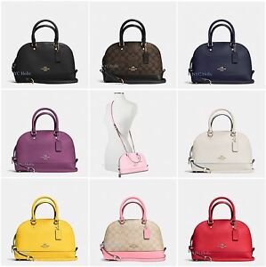 New Coach Mini Sierra Crossbody Satchel Dome F27583 F27591 F37232