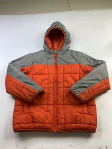 The North Face Boys Reversible Jacket Insulated Hooded Youth Size Medium (10-12)