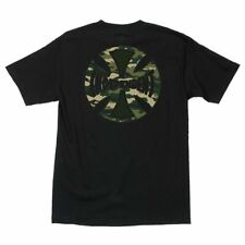 New Independent Skateboard Trucks Concealed T-Shirt (Black / Camo) Mens SMALL