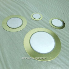 4 Values Piezoelectric Copper Buzzer Film Gasket Assorted Kit  Dia.15/20/27/35mm