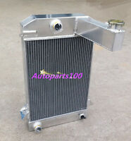 QLD GPI For TRIUMPH RADIATOR TR2/TR3/TR3A/TR3B 62MM 3 ROW ALUMINUM ALLOY MT