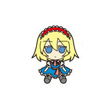 Touhou Project Rubber FumoFumo Alice Key Chain Anime NEW