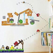 Angry Birds Reutilizable pegatinas de pared kids/nursery/boys / Sala De Niños calcomanías