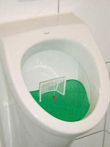 Klokicker Fussball WC Urinal Siebe 2er Set Pissoir Toiletten Urinalsieb Aufsatz