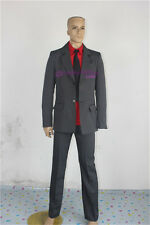 Soul Eater Soul Evans Cosplay Costume man's suit