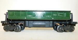 LIONEL 3459 DUMP CAR (GREEN)