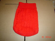 Very Cute Red Dog Knitted Sweater Jumper M
