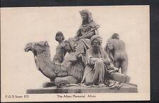 London Postcard - The Albert Memorial, Africa  RS4025