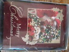 "16 Ct. Christmas Card Santa ""Merry Christmas"" Trim A Home (PA)"