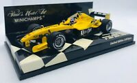 Minichamps 1/43 F1 Jordan Ford EJ14 N. Mansell London 2004 400040095