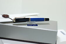 PELIKAN Souverän®  M400  fountain pen Black-Blue  NEGRO Azul
