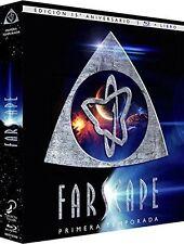 PACK FARSCAPE Temporada 1 Ed Coleccionista Blu-Ray 15º aniversario + Libro