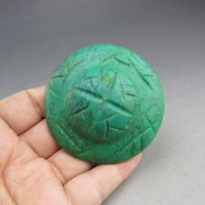 China,jade,hand carved,Hongshan culture,turquoise,UFO ,pendant W(8)